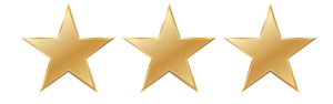 Three-gold-stars